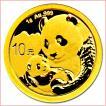 金貨 コイン『パンダ金貨 1g 2019年製 密封シート入り』中国人民銀行発行 1gの純金 品位:K24 (99.9%) 純金 24金 ゴールド《安心の本物保証》保証書付き