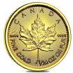 メイプル金貨 1/20オンス 2018年製 カナダ王室造幣局発行 1.55gの純金 24金 K24 メイプルリーフ 金貨 ゴールド コイン 保証書付き