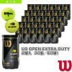 [ウィルソン テニスボール]US OPEN EXTRA DUTY 2球入(エクストラデューティ)『箱単位(30缶/60球)』(WRT1000J)
