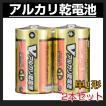 乾電池 単1 Vアルカリ乾電池 単1形 2本パック