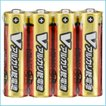 乾電池 単3 Vアルカリ乾電池 単3形 4本パック 送料無料