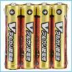 乾電池 単4 Vアルカリ乾電池 単4形 4本パック 送料無料