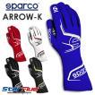 スパルコ レーシンググローブ カート用 外縫い ARROW (アロー) 2020年モデル Sparco