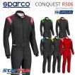スパルコ レーシングスーツ 4輪用 CONQUEST R506(コンクエスト)国内限定カラー Sparco FIA2000公認