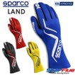 スパルコ レーシンググローブ 4輪用 LAND ランド 内縫い FIA公認 Sparco