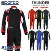 スパルコ レーシングスーツ カート用 THUNDER (サンダー) キッズ・ジュニアサイズ 2020年モデル Sparco