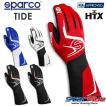 スパルコ レーシンググローブ 4輪用 外縫い TIDE (タイド) FIA公認 Sparco 2020年モデル(サイズ交換サービス)