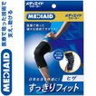 メディエイド すっきりフィット ひざ ブラック Mサイズ 1枚 / 日本シグマックス メディエイド