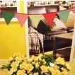 ノーブランド品バナー ガーランド パーティー 小物 ウエディング グッズ アイテム 撮影道具  壁飾り 誕生日