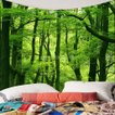 3次元 防水 ファッション 自然風景 タペストリー...