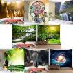 3D防水タペストリー - 壁掛け装飾150x130cm