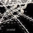 天然石 ビーズ クリスタル 水晶 約8mm 連売り パワーストーン ハンドメイド アクセサリー