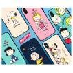 iphoneケース Snoopy ピーナッツ すぬーぴー 携帯ケース IPHONE カード ミラー ケース チャーリーブラウン カワイイ
