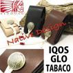 アイコス iqos ヒートスティック IQOS専用ケース 電子タバコケース レザーケース チョーキングタイプ 本革 レッドムーン 国産
