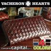 本革 長財布 メンズ レディース 送料無料  牛革・長財布・メンズ 全4色 VACHERON HEARTS 最上級 イタリアンレザー ロングウォレット LT0523