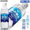 炭酸水 強炭酸 500ml 48本 天然水 水 国産 まとめ買い ペットボトル 飲料 アイリスの天然水 強炭酸水500ml アイリスオーヤマ (D) 代引不可