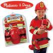 旧商品 Melissa&Doug メリッサ&ダグ コスチュームセット ファイヤーチーフ MD4834 知育玩具