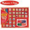Melissa&Doug メリッサ&ダグ フェイバリット シングス スタンプセット MD9362 知育玩具
