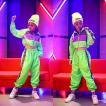 キッズ ダンス衣装 ヒップホップ セットアップ HIPHOP パンツ トップス キラキラ 子供 男の子 女の子 ジャズダンス ステージ衣装 練習着 ダンスウェア