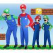 ハロウィン コスプレ スーパーマリオ風 マリオ風 Luigi Mario ゲーム おもしろ メンズ 大人 変装 イベント 学園祭
