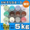 カラーサンド 日本製 デコレーションサンド 細粒(0.2mm位) Vタイプ お好きな色を1色 5kg