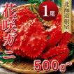 年末 お歳暮 カニ 北海道  ギフト 贈り物 花咲ガニ500g-580g ボイルM 北海道根室産直 花咲蟹 お土産