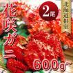 年末 お歳暮 カニ 北海道  ギフト 贈り物 花咲ガニ600g-680g×2尾 ボイルL 北海道根室産直 花咲蟹 お土産
