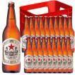御年賀 お年賀 ギフト お酒 サッポロ ラガービール 633ml 20本 大瓶 赤星 ケース販売 P箱 サッポロ ビール