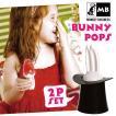 91205 バニーポップス アイスキャンディーメーカー 2pセット/製氷皿面白おもしろうさぎウサギ耳