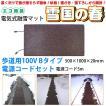 融雪マット 歩道用Bタイプ 電源コードセット 500×1000×20mm [雪国の春]