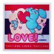 国旗 ステッカー タイぞう ラブ タイランド LOVE(だいすき)/ t1 | タイ 国旗 ステッカー シール アジアン 雑貨