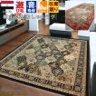 カーペット 6畳 ラグ 絨毯 じゅうたん ラグマット ベルギー製 ボタニカル柄 おしゃれ 【ボタニカル 2665】 約6畳 240x330cm