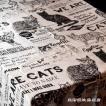 マルチカバーMONO キャットポスター ナチュラル ねこ 雑貨【レターパックプラス可】 D