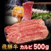 バーベキュー焼肉セット  国産高級霜降り黒毛和牛肉 A5、A4ランク限定飛騨牛焼肉カルビ 3人前(500g) 岐阜県・ふるさと商品のし対応