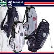 アドミラルゴルフ キャディバッグ レジメンタル柄 スタンド キャディバッグ ADMG6SC7 MODEL CB Admiral Golf