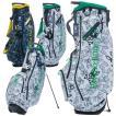 サイコバニー ゴルフ スタンドバッグ スタンド キャディバッグ メンズ レディース 9.0型 約2.9kg 5分割 軽量 ブランド レア ホワイト ネイビー PBMG1SC7