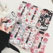 iPhoneX/iPhoneXs iPhone8plus/7 plus iPhone8/7用お花柄FlowerTPU保護カバー 少女心アップ フラワー カワイイ 隠れるリングソフトケース