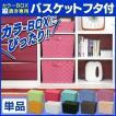 カラーボックス用 バスケット フタ付 アイリスオーヤマ キューブボックス キューブBOX