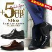 送料無料 シークレットシューズ メンズシューズ SH02DB-681 背が高くなる靴 5cmUP ビジネスシューズ