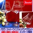 バカラ 結婚祝 赤ワイングラス Lペアグラス 名入れ シャンパングラス  ペアセット 側面彫刻シャトーワイン ペア