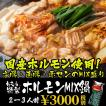 たむほる特製(たむけんの韓国風ホルモン鍋・もつ鍋セット)ホルモンMIX鍋2〜3人前