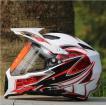 オフロードヘルメット バイクヘルメット オープンフ...