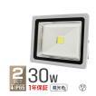 LED投光器 30W 300W相当 省エネ LEDライト 防水 2個セット