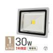 LED投光器 30W 電球色 暖色 3000K 省エネ LEDライト 防水