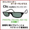 簡単着脱♪偏光レンズ・UVカットサングラス【クリックリーダーレギュラータイプオーダーサングラス】選べるフレームカラー全12色