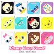 Disney ディズニー ◆ループタオル 【1セット6枚入】 [ボーイズ用/ガールズ用]