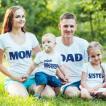 家族 Tシャツ 2 親子 お揃い