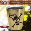 ワンピース グッズ ONE PIECE FILM GOLD 真空ステンレスタンブラー 海賊旗 映画 フィルムゴールド 食器 コップ