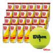 ウイルソン Wilson  テニスボール CHAMPIONSHIP EXTRA DUTY (チャンピオンシップ エクストラデューティー)3球入 1箱(24缶/72球)