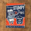 ブリキサイン Stumpy Pete's Ham 5072-1794 アメリカンレトロ /業務用/送料756円
